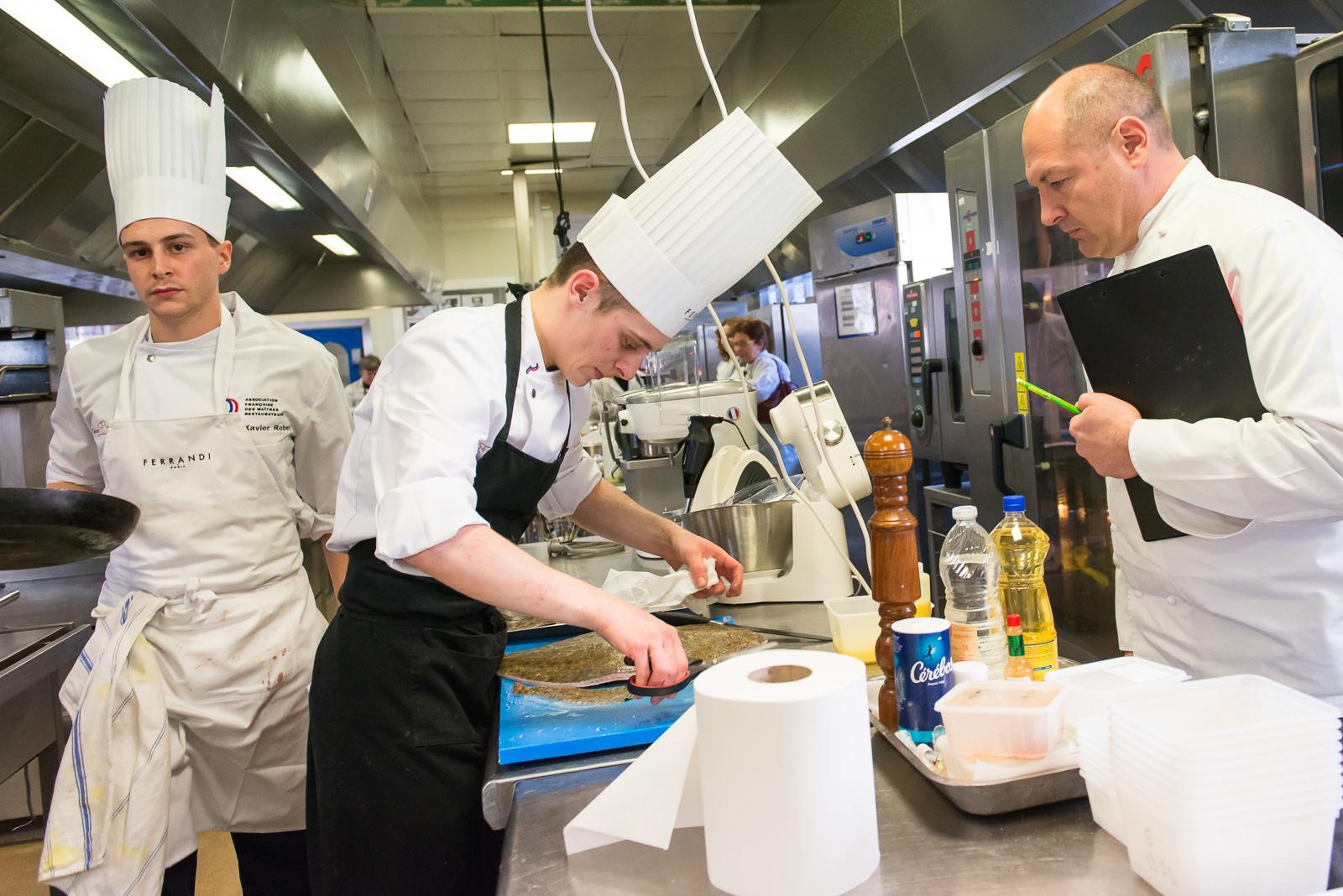 Association fran aise des ma tres restaurateurs finale - Ecole de cuisine ferrandi paris restaurant ...
