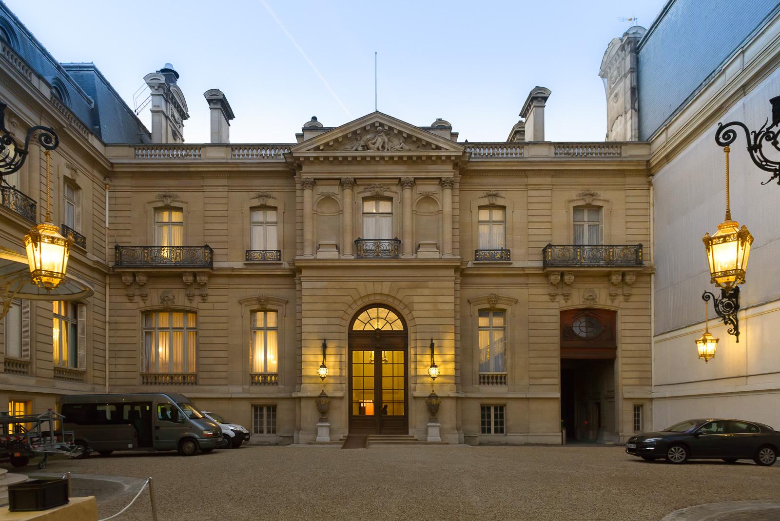 Remise des Trophées FIPC 2016 à  Hôtel de Marigny