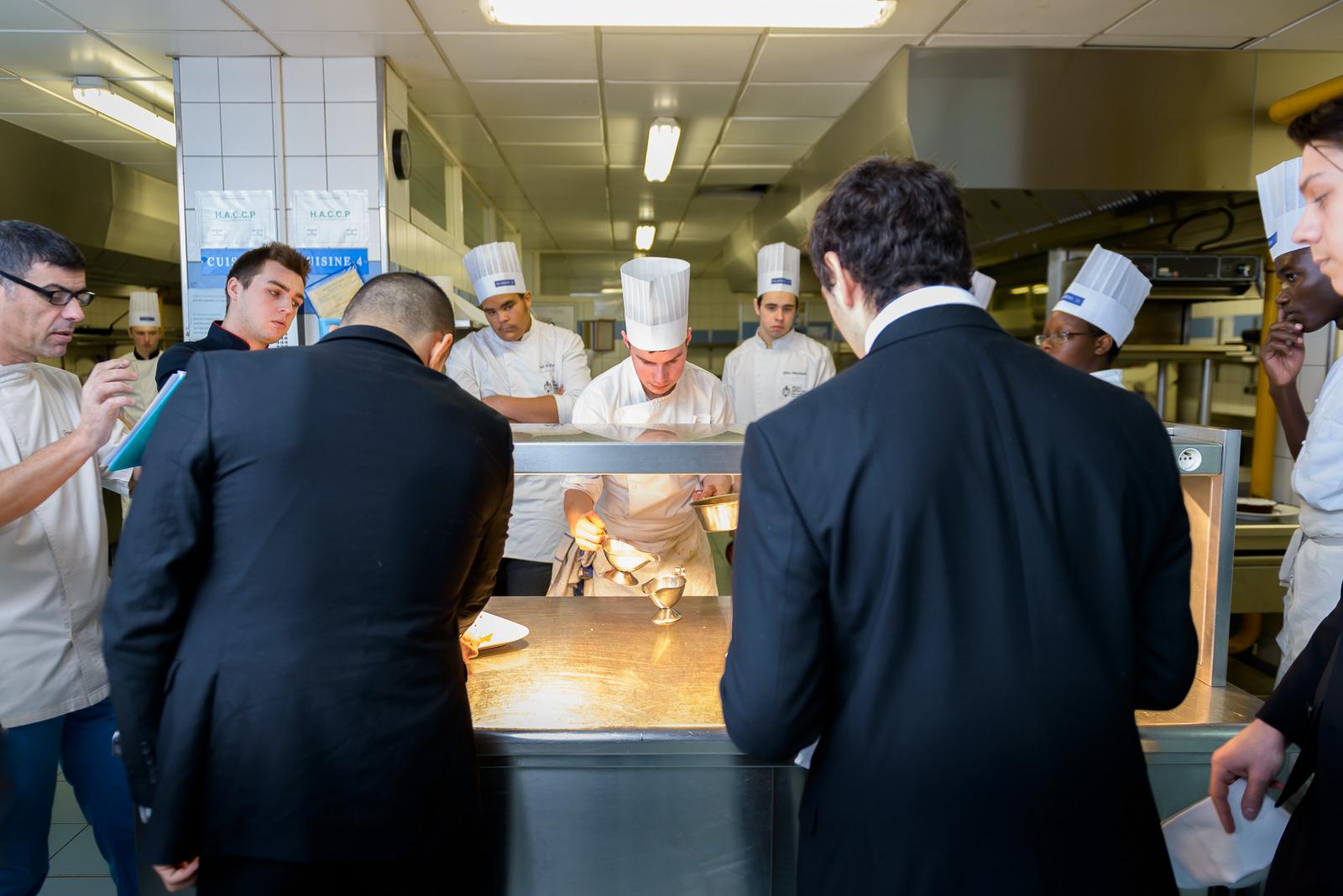 Concours à l'école hôtelière de Paris CFA Médéric