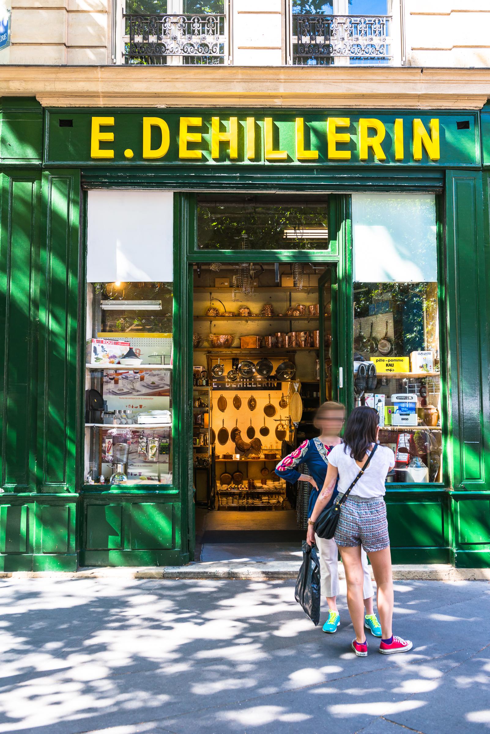 Dehillerin Paris 1er