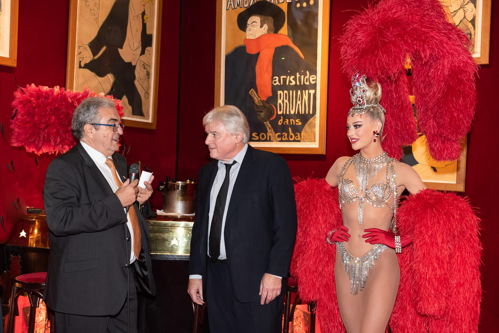 Soirée de Gala au Moulin Rouge